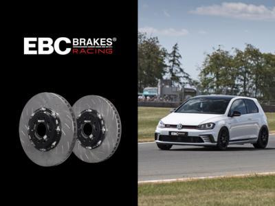 EBC Brakes Racing представя: напълно плаващ двукомпонентен ротор за Mk7 Golf GTI/R
